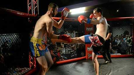 Brandon Veitch (Mackay MMA) and Josh Hansen (CM Kickboxing) face off on Saturday night.