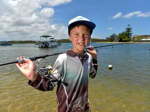 Whopper catch: Boy's monster Mooloolaba fish