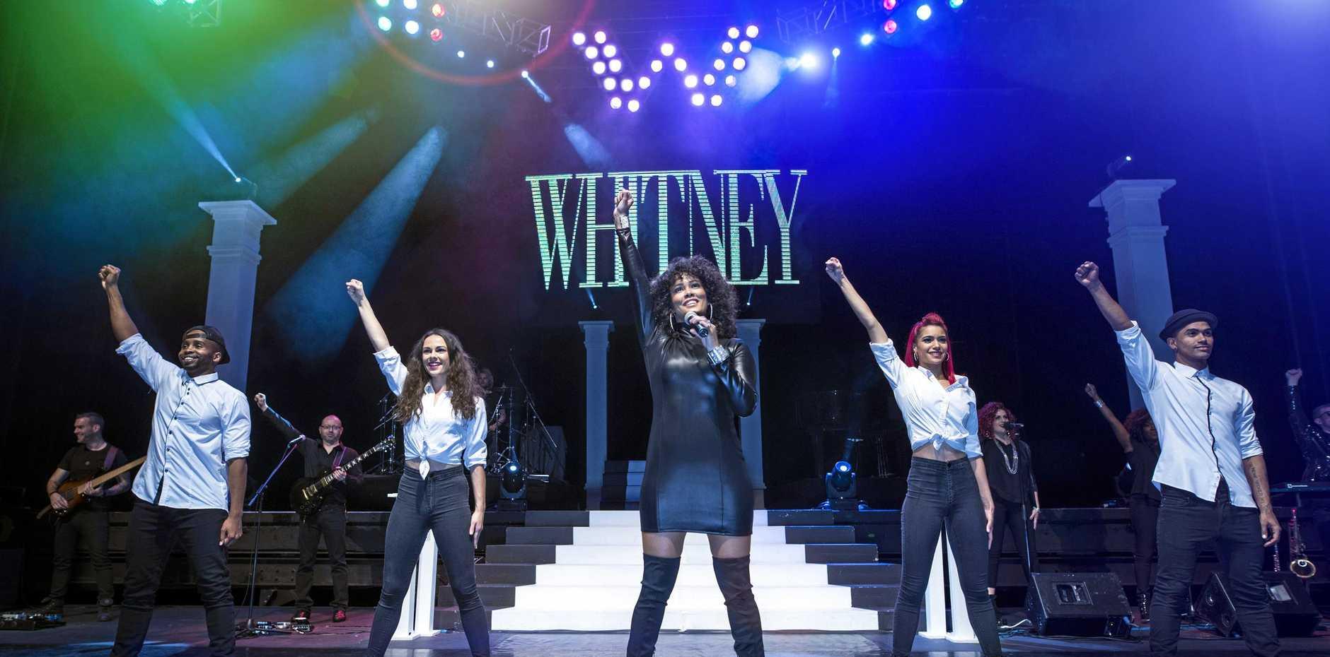 TRIBUTE SHOW: Showtime Australia is showcasing songstress Whitney Houston, through the breathtaking vocals of Belinda Davids.