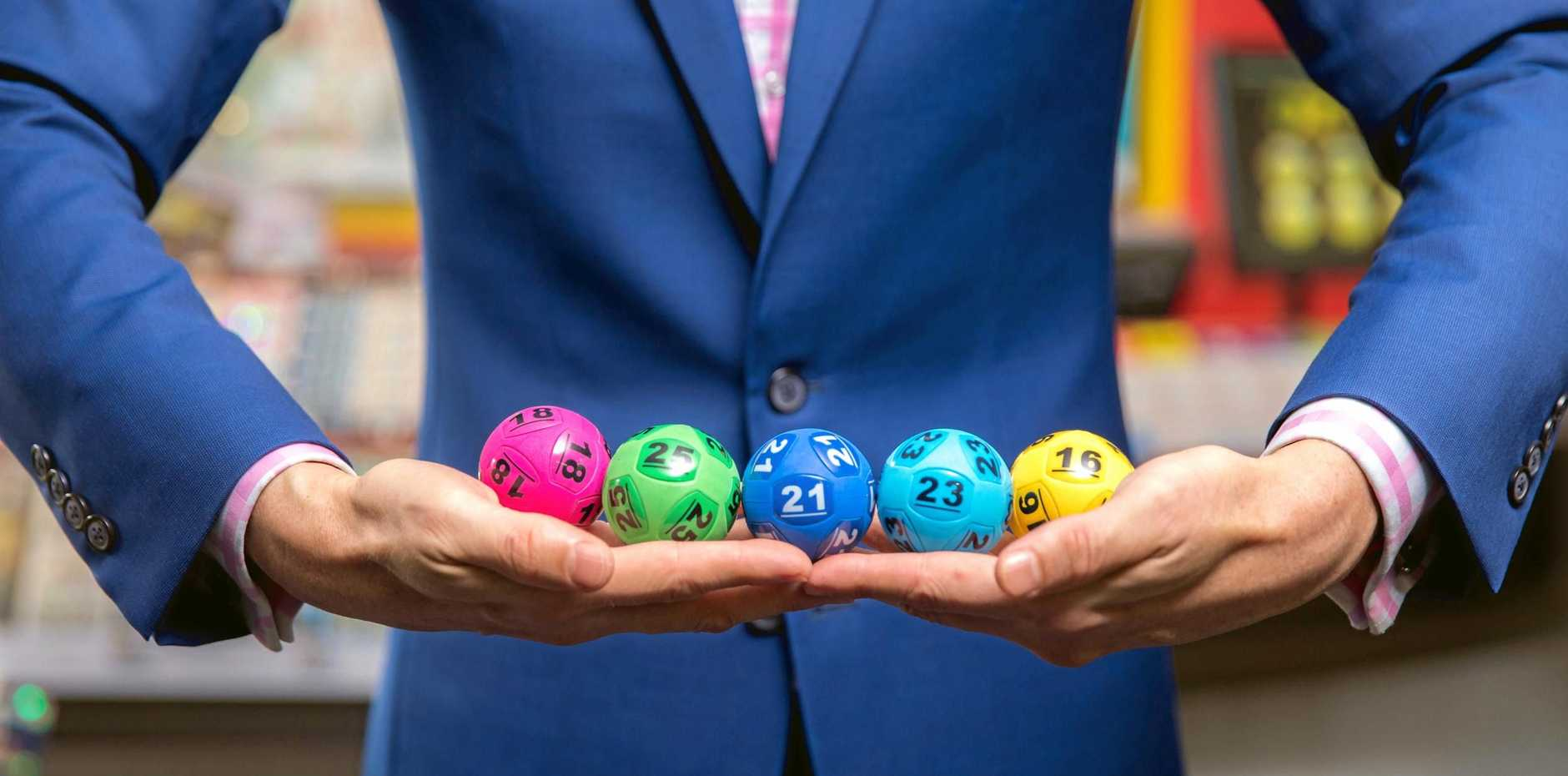 BIG WIN: A local tradie scooped up some riches on Saturday night in the Gold Lotto.