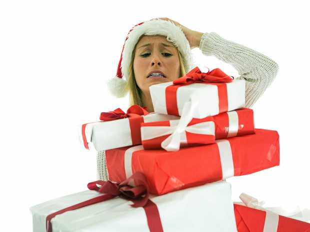 STRESS: Christmas is a hectic period.