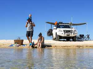 Fraser Island wins best family camping spot
