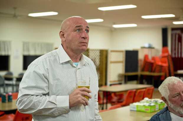 Deputy mayor Chris Trevor keeps a close eye on the tally. Election 2016. Saturday 2 July 2016