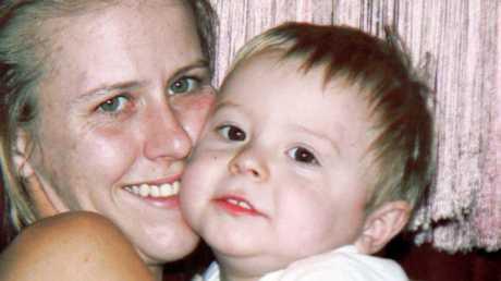 Heidi Strbak has been sentenced for the manslaughter of her son Tyrell Dennis Strbak Cobb (above).