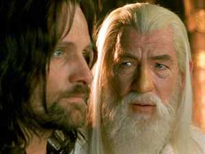 Sir Ian McKellan (right) starred as Gandalf alongside Viggo Mortensen (Aragorn) in the Lord of the Rings movies.
