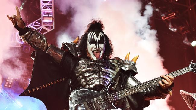 When you've grown up loving KISS and their music, it would take a lot for them to fall from grace. (Pic: Ellen Smith)