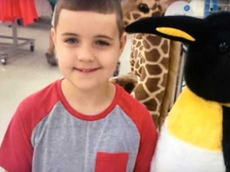 Josiah Sisson, 9, had been out looking at Christmas lights with his brother when he was fatally injured.