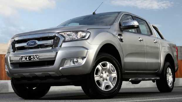 Ford has issued a warning to owners of Ranger utes built since July 2016 to avoid driving over long grass due to a fire risk. Picture: Supplied