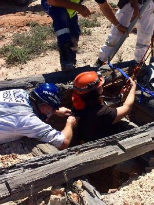 The woman was taken to hospital in a stable condition. Picture: NSW Police Force