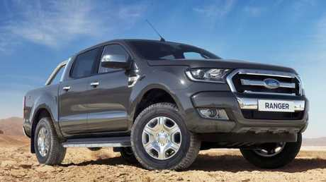 About 59,000 examples of the latest model Ford Ranger ute are being recalled in Australia due to fire risk. Picture: Supplied.