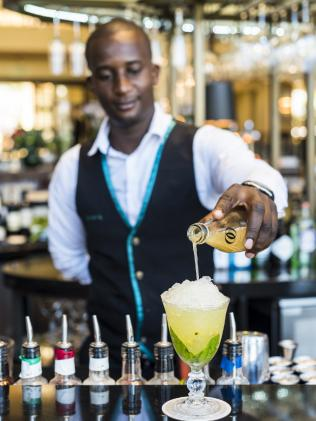 Bar Vista, at the One & Only resort, Cape Town, South Africa