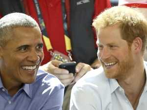 'I'm nervous': Prince Harry interviews Obama