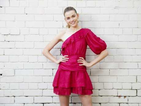 Australian model Victoria Lee. Picture: Justin Lloyd.