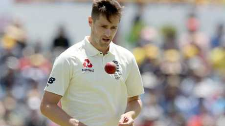 Chris Woakes and his teammates have struggled at the WACA.