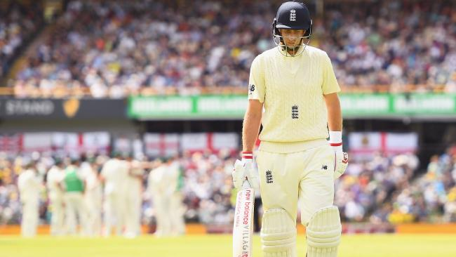 England's media have attacked their captain for his miserable series with the bat in the Ashes.