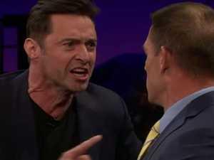 Jackman trash talks Cena to his face