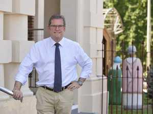John McVeigh congratulates new PM Scott Morrison