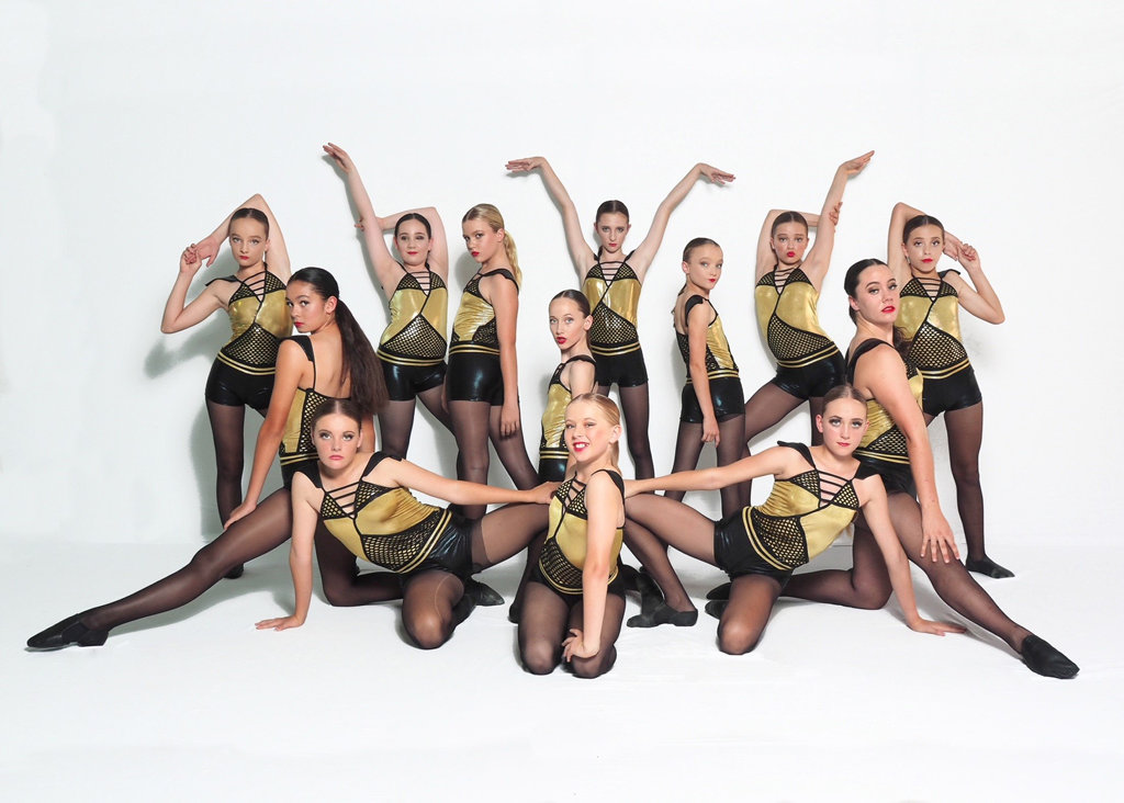 Dancers from The League Studios in Hervey Bay in their end of year concert.