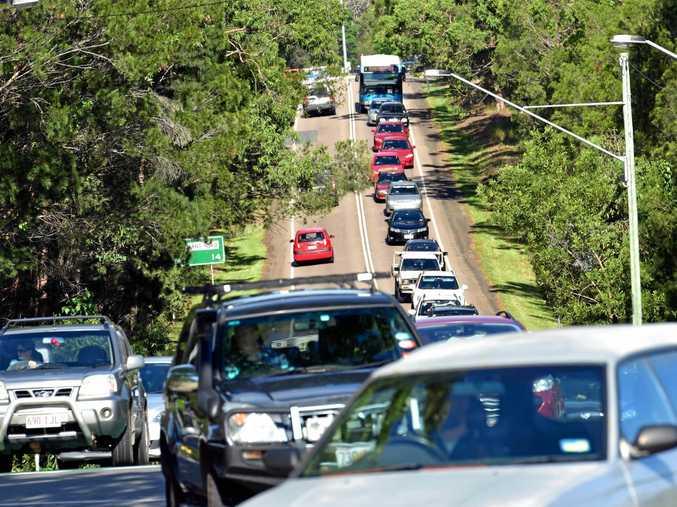 ROAD HEADACHE: Beckmans Road traffic snarls