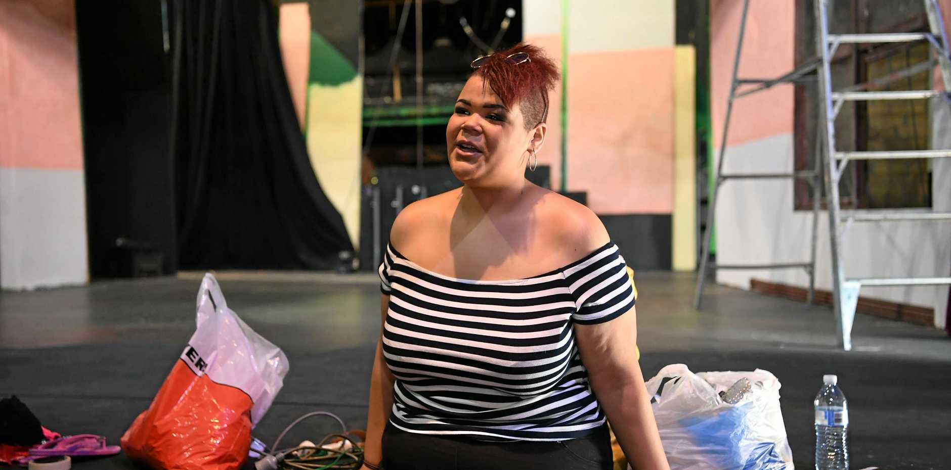OPPORTUNITY: Mantshologane Maile is off to Sydney to further her drama career.