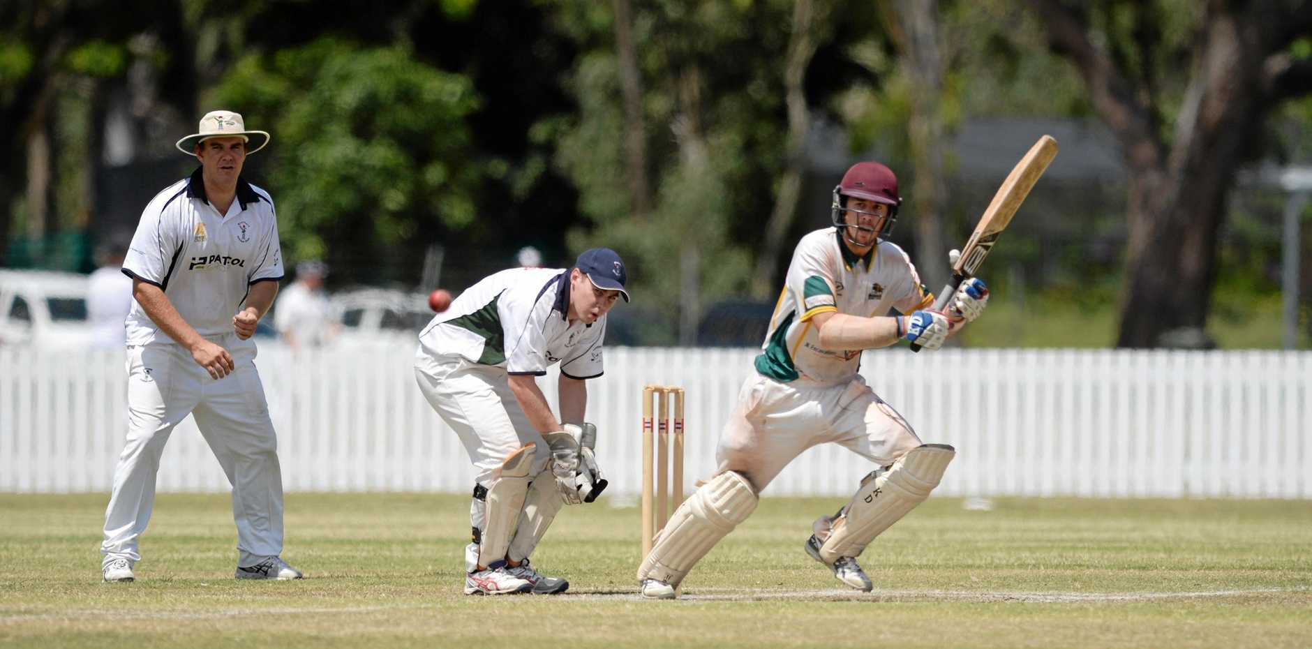 STRONG PLAY: Gracemere's Byron Gale (pictured) and fellow opener Luke Johnstone gave Gracemere the perfect start in its clash with Rockhampton Brothers on Saturday.