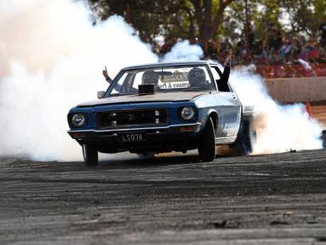 Carina Speedway Bundy Burnouts event.