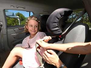 'There was a truck in our boot': Car seat saved child