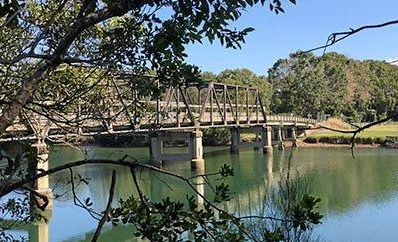 GRAND HISTORY: Heritage-listed Raleigh Bridge has been serving the community for more than eight decades.