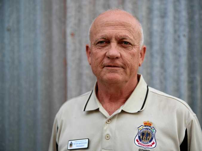 NO POLITICS: Gympie RSL Sub-branch president Peter Maddocks.