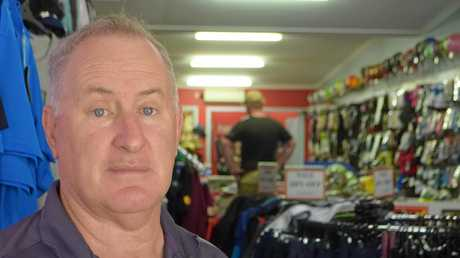 SPORT STALWART: Danny Lyons has run his successful business in the same spot in Palmerin St for 34 years.