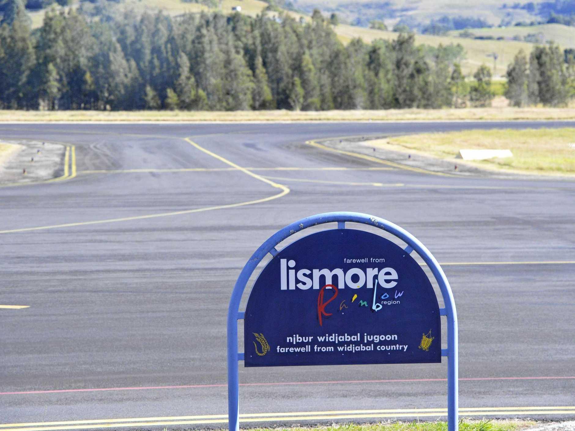 Lismore Regional Airport.