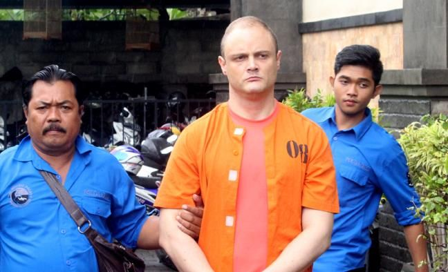 Toowoomba accountant Isaac Emmanuel Roberts has been arrested in Bali on drug trafficking charges.