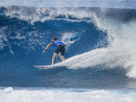 Bede Durbidge finished equal 25th in his final event. Picture: AAP