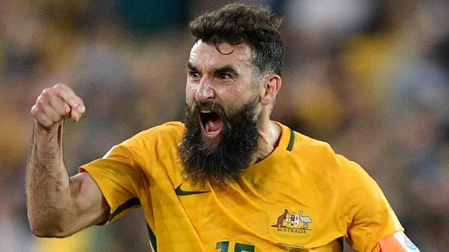 Mile Jedinak of the Socceroos.