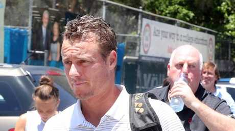 Lleyton Hewitt enjoyed his underdog status.