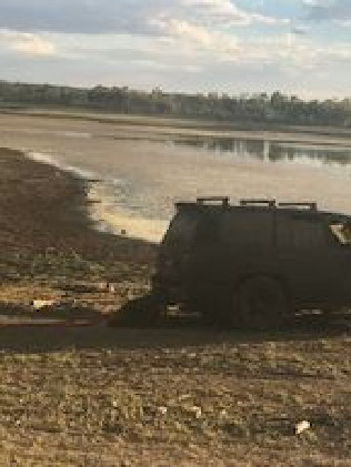 Police recovered Rosemary McLean's car after it was discovered submerged by a man in a boat.