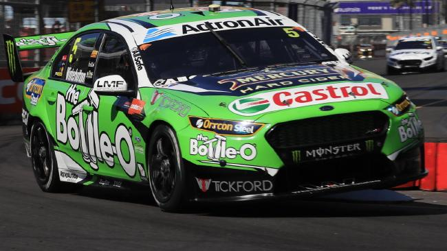 Tickford logos on Winterbottom's car at the Newcastle 500. Pic: Mark Horsburgh.