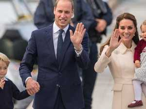 ROYAL CHRISTMAS: George and Charlotte shine on family card