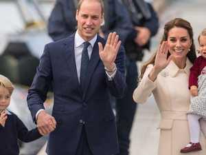 ROYAL CHRISTMAS: George and Charlotte shine on family card