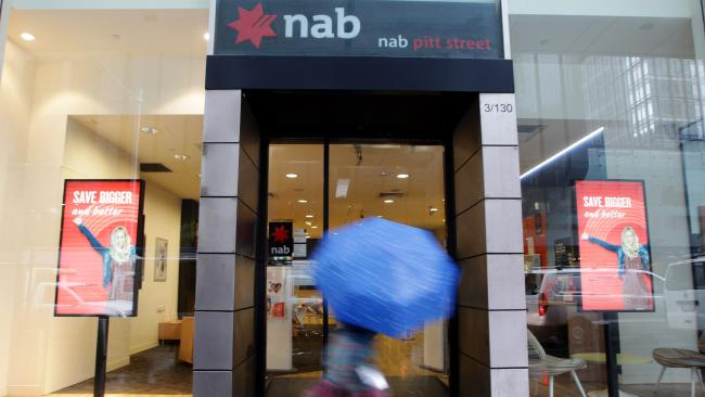 After customer complaints, National Australia Bank now admits it overcharged some customers with offset accounts during a seven-year period. Picture: Hollie Adams/The Australian