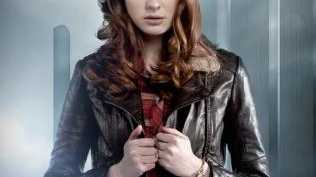 Gillan as Doctor Who companion Amy Pond. Amy worked with the 11th Doctor, played by Matt Smith. Picture: ABC