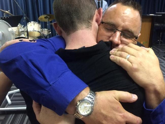 Karl, a pastor, met with Adrian Murray not long after his son's death and offered his forgiveness. Picture: Supplied
