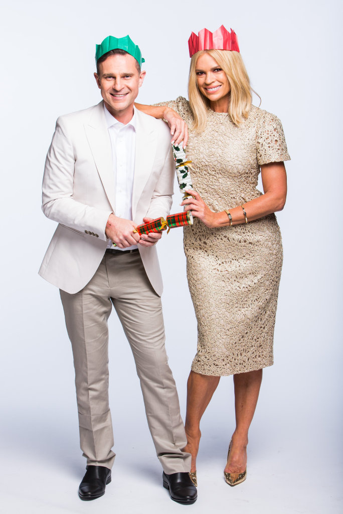 Sonia Kruger joins returning host David Campbell for Sunday's Carols by Candlelight.