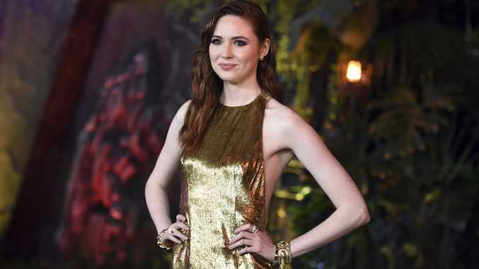 Karen Gillan has found her own inner action heroine through playing them on screen.