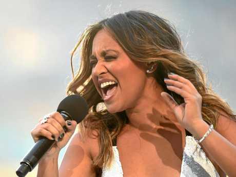 Singer Jessica Mauboy.