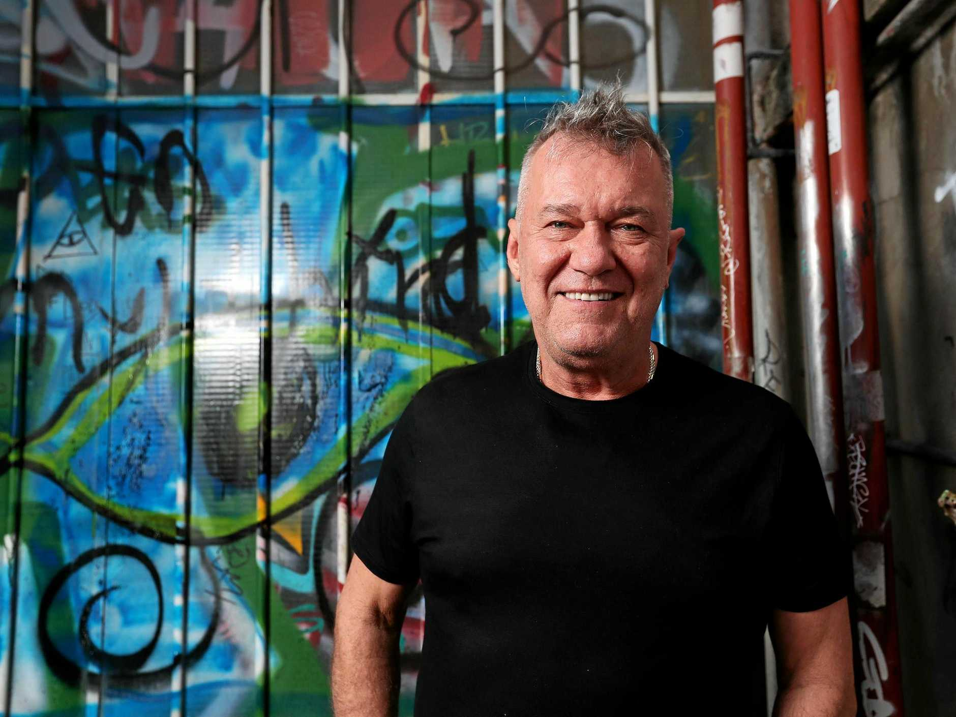 Rock legend Jimmy Barnes.
