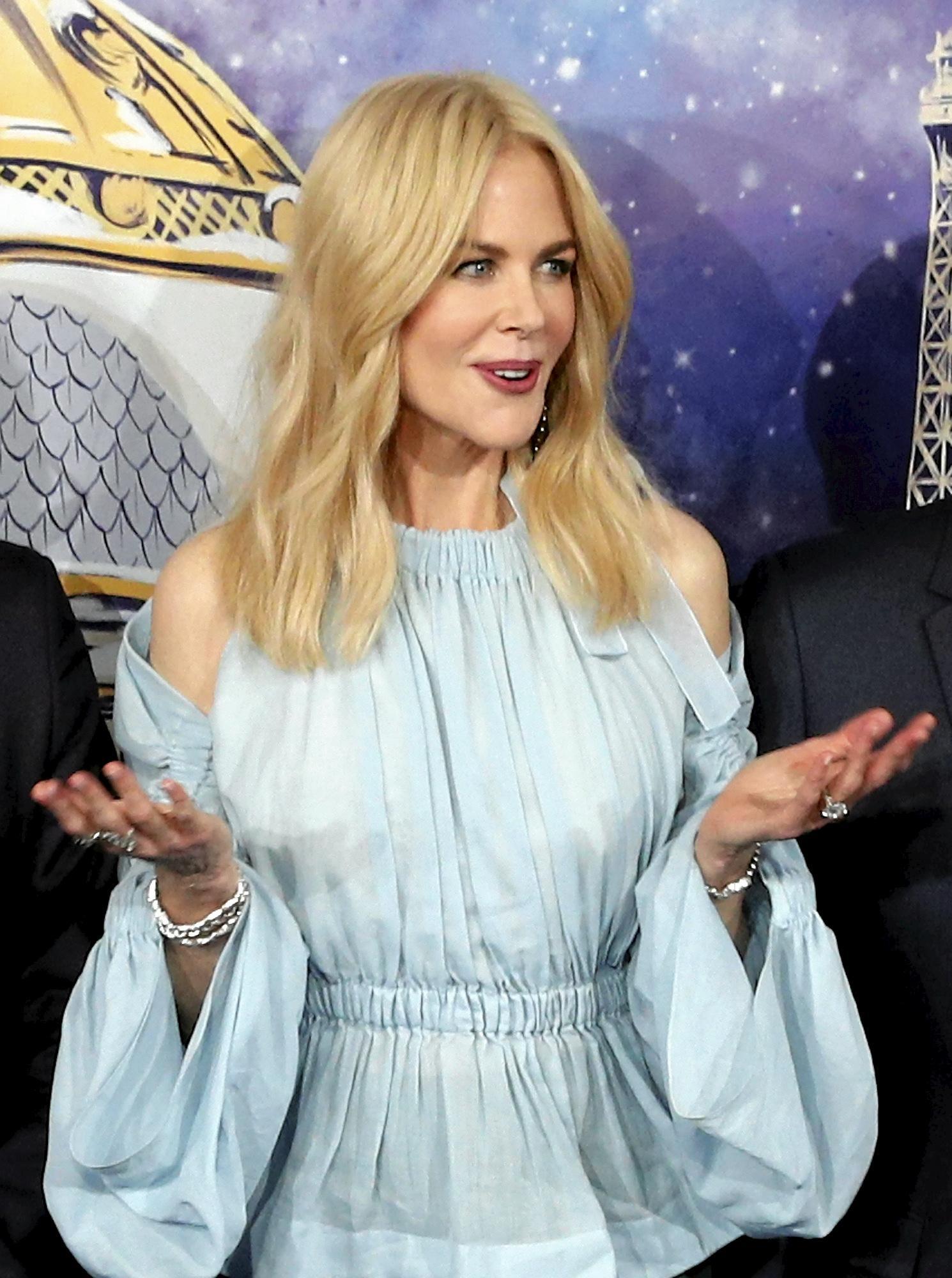 Australian actress Nicole Kidman.