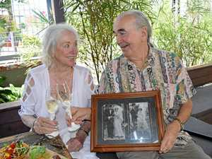 There for each other: couple celebrates 60th anniversary