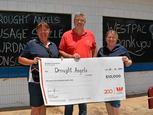 Drought Angels celebrate