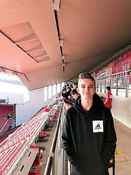 Dylan at Anfield